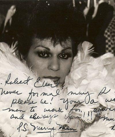 Danee Russo-Signed headshot of Danee Russo-1985