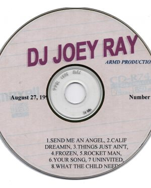 DJ Joey Ray CD
